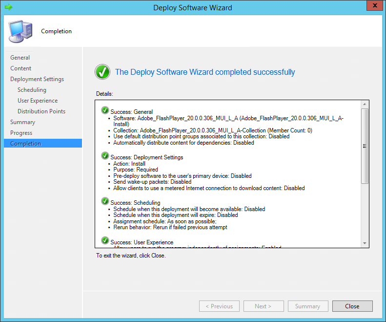 SCCM 2012 R2 – Package Implementation and Deployment – dbsnet