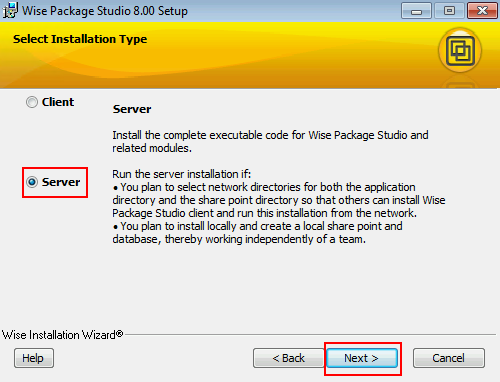 Install and Configure Wise Package Studio (Win 7) – dbsnet