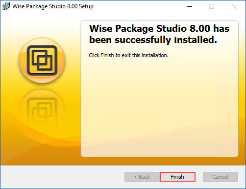 Install and Configure Wise Package Studio (Win 10) – dbsnet